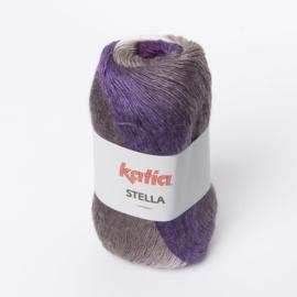 Katia Stella 75 Ecru-Grijs-Mediumgrijs-Lila