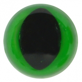 Kattenogen Feller groen 12 mm