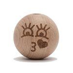 Durable Kraal gelukspoppetje Sophie 25mm per 2