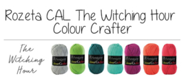 Scheepjes CAL2019 Rozeta Colour Crafter - The Witching Hour