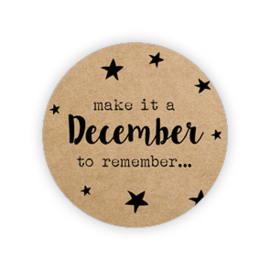 Kadosticker Make it a December to remember...  10 st