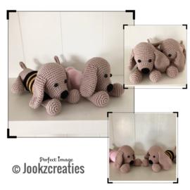 Rammelpieper Puppy  van Jookz creaties