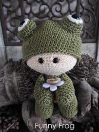 Haakpakket Funny Frog
