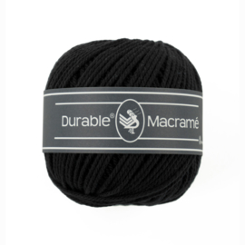 Durable Macrame 325 Black