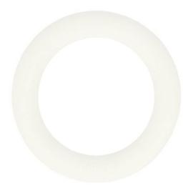 Opry siliconen bijtring  55mm kleur 009 Wit