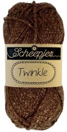 Scheepjes Twinkle 939 Donkerbruin