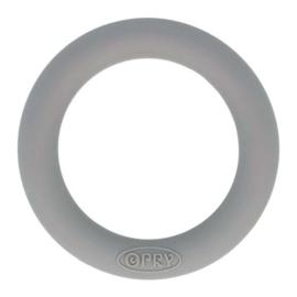 Opry siliconen bijtring  55mm kleur 002 Donkergrijs