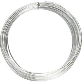 Alu draad - aluminium draad 2mm ZILVER