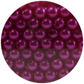 30 Parelkralen acryl Pink- 8mm