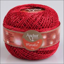 Anchor Artiste metallic Rood nr 318