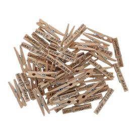 Scheepjes Wasknijpers hout 45mm