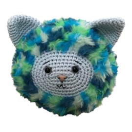 Furry Friends Blauwe Poes Garen- en Fourniturenpakket