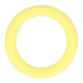 Opry siliconen bijtring  55mm kleur 638 Zachtgeel