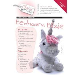 Patroonboekje Eenhoorn Elsje en 3 andere dieren!