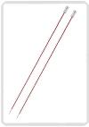 KnitPro Zing breinaald 2,00 mm met knop 40cm
