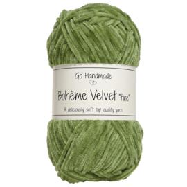 Go Handmade Bohème Velvet Fine - Peridot Green - 17616