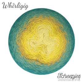 Whirligig 203 Teal to Yellow