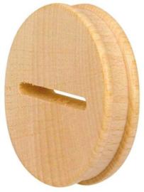 Schijf voor spaarsok diameter 58mm