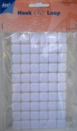 Klittenband vierkantjes  Joy! 13 mm 60 stuks