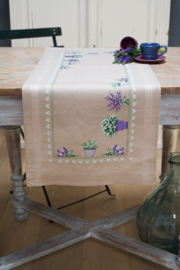 Telpakket Loper Lavendel
