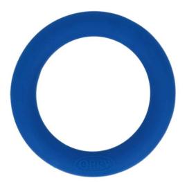 Opry siliconen bijtring  55mm kleur 215 Cobalt