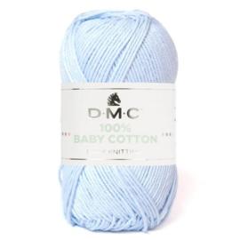 DMC 100% Baby Cotton 765 BabyBlauw