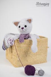 Garenpakket knuffeldeken Pelle de poes  woolytoons 2
