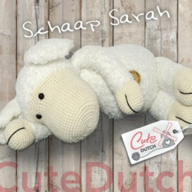 Garen, Fournituren en patroon Schaap Sarah wit
