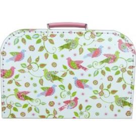 Koffertje met servies van Tin Vogeltjes