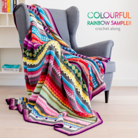 CAL Rainbow Sampler Blanket