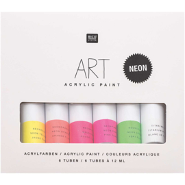 Rico Art Acrylic Paint Neon