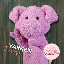 Haakpakket Varken Joep uit boek Handpoppen haken Cute Dutch