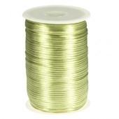 Satijnkoord 2mm Pastel groen