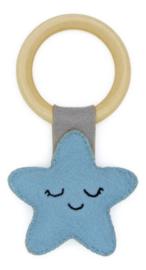 Hardicraft Rammelaar vilt Ster Blauw