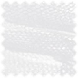 Tule wit afm: 50cm op rol van 5 meter