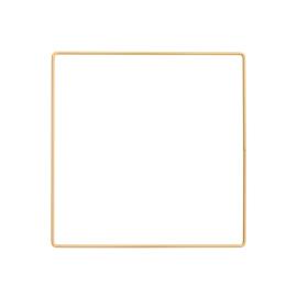 Metalen frame vierkant 20x 20cm Donkergoud