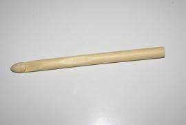 Bamboe houten haaknaald 8mm