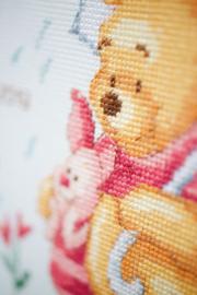 Telpakket kit Disney Winnie in de regen