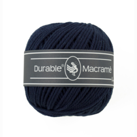 Durable Macrame 321 Navy