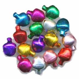 Belletjes gekleurd 6mm - zakje ±200 stuks