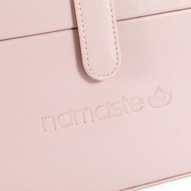 Namaste Train Case groot  30,5 x 16,5x 15,2cm  Roze - Blush