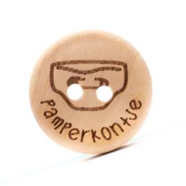 Durable Houten knopen: Pamperkontje 20mm -4 stuks-