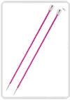 KnitPro Zing breinaald 10,00 mm met knop 40cm
