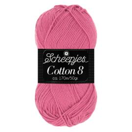 Cotton 8 Scheepjes 653 Oudroze