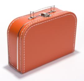 Koffertje Oranje 25cm