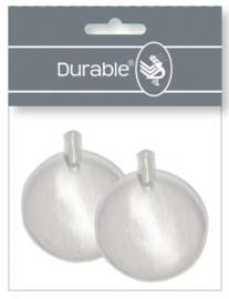 Durable Pieper 50mm - per 2 stuks