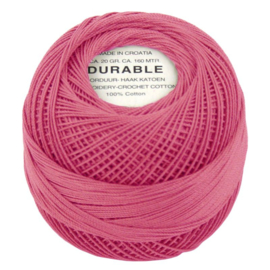 Durable borduur en haakkatoen  Roze1004