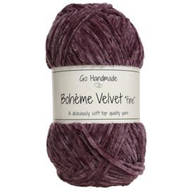 Go Handmade Bohème Velvet Fine - Dark Lavender - 17680