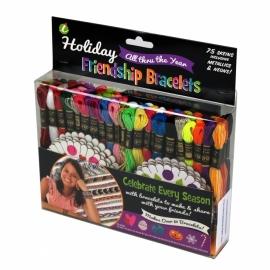 Friendship bracelet Kit Holiday