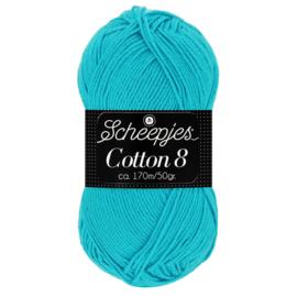 Cotton 8 Scheepjes 712 Turquoise